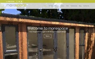 morespace4u site re-design