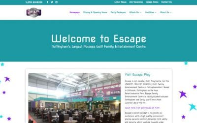 Escape Play Site Re-launch