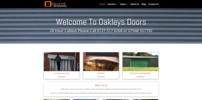 oakleys doors