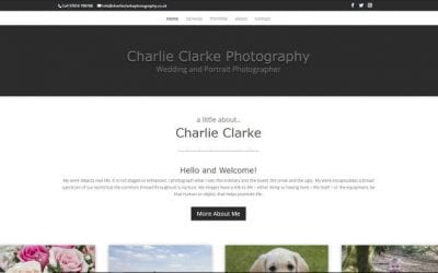 New website Charlie Clarke Photography