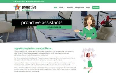 New Proactive Assistants Website