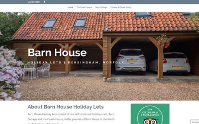 New Barn House Holiday Lets Site